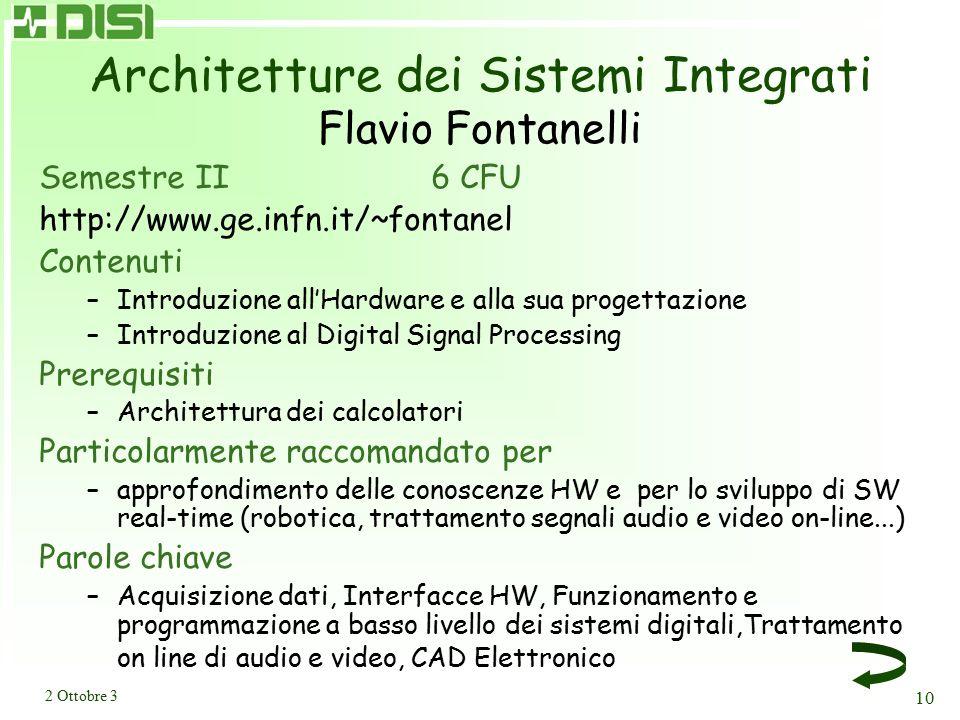 Sistemi e Tecnologie della Comunicazione Silvana Terreni