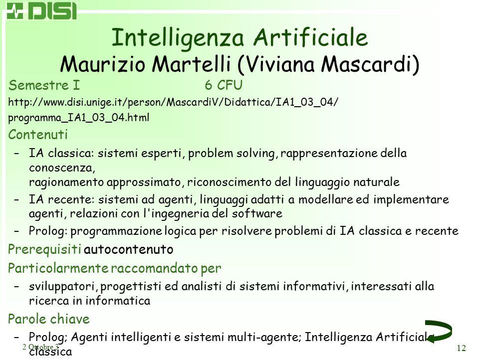 Implementazione I Massimo Ancona