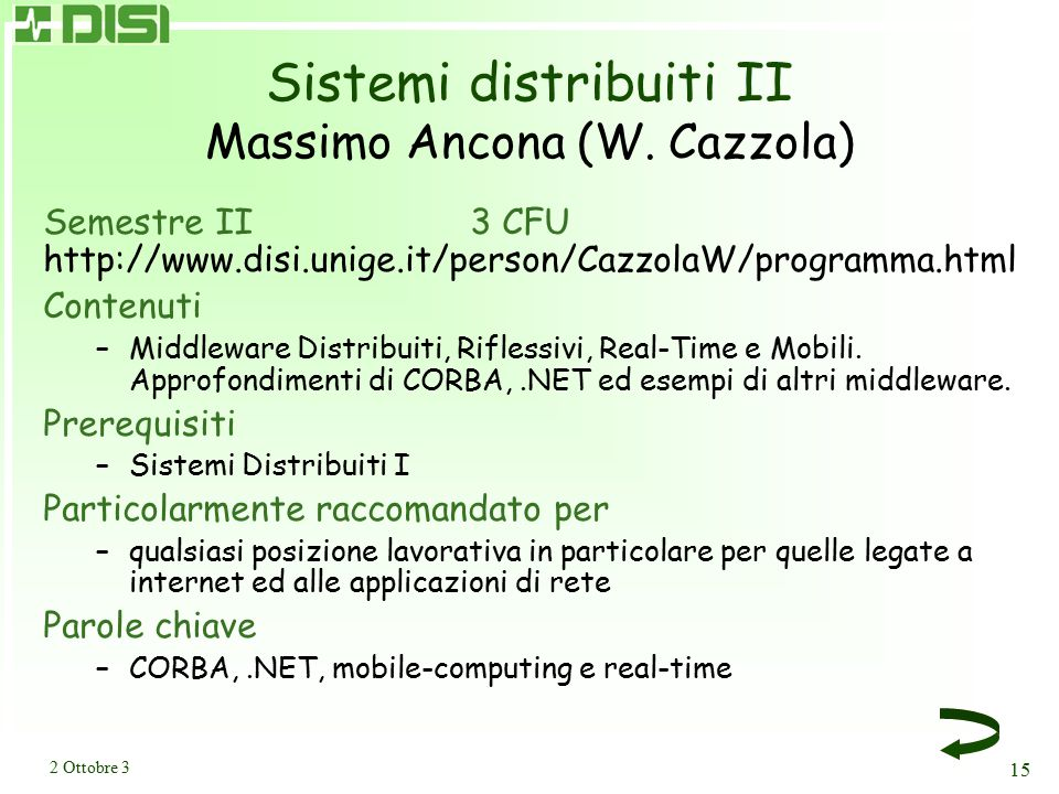 Soft Computing Francesco Masulli