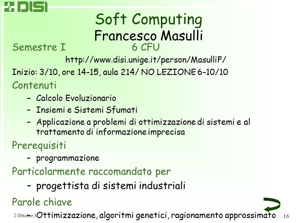 Calcolabilità e Complessità Eugenio Moggi