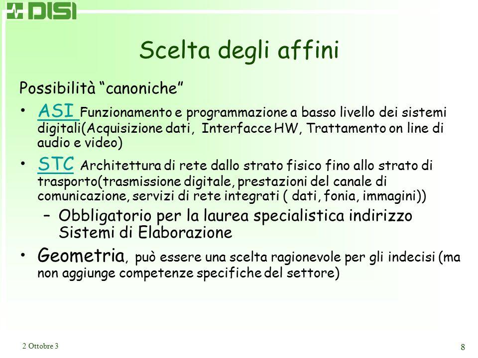 Corsi Facoltativi Architetture di Sistemi di Gestione Dati -- 6 CFU