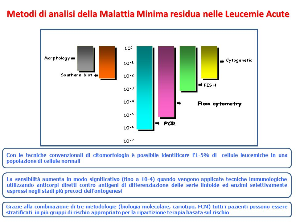 Metodi di analisi della Malattia Minima residua nelle Leucemie Acute