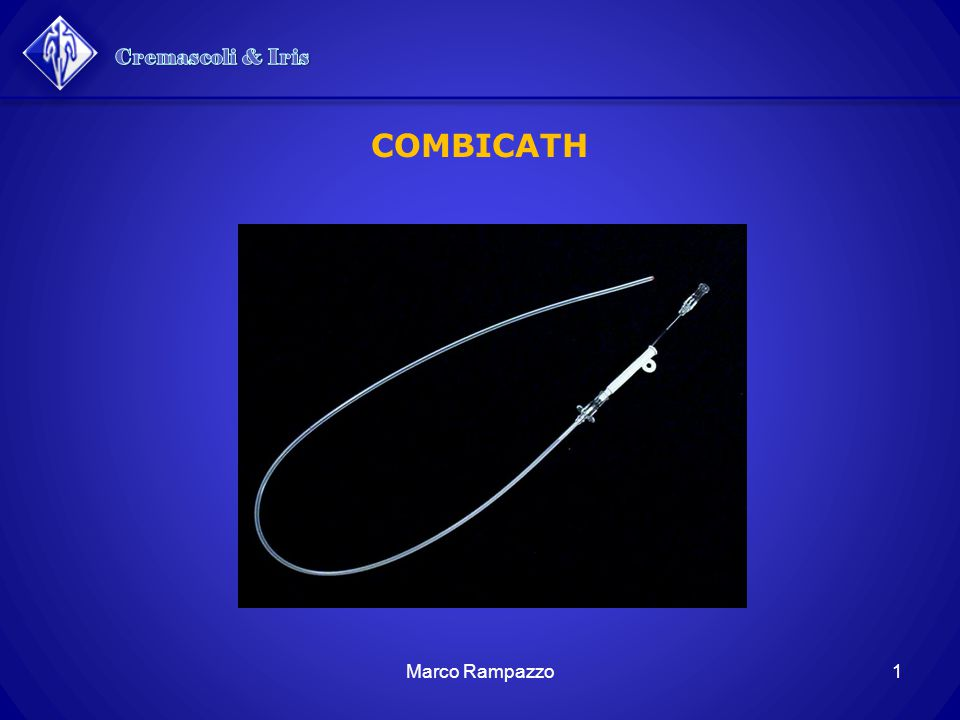 Cremascoli & Iris COMBICATH Marco Rampazzo