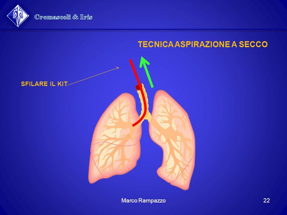 Cremascoli & Iris TECNICA ASPIRAZIONE A SECCO SFILARE IL KIT
