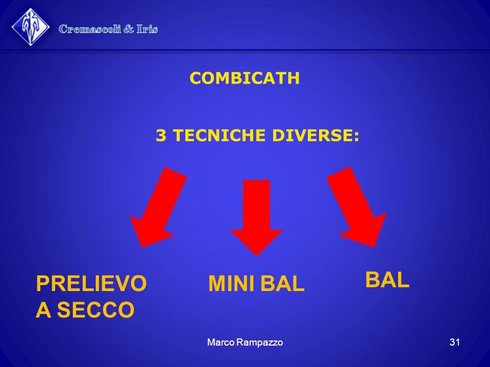 BAL PRELIEVO A SECCO MINI BAL Cremascoli & Iris COMBICATH