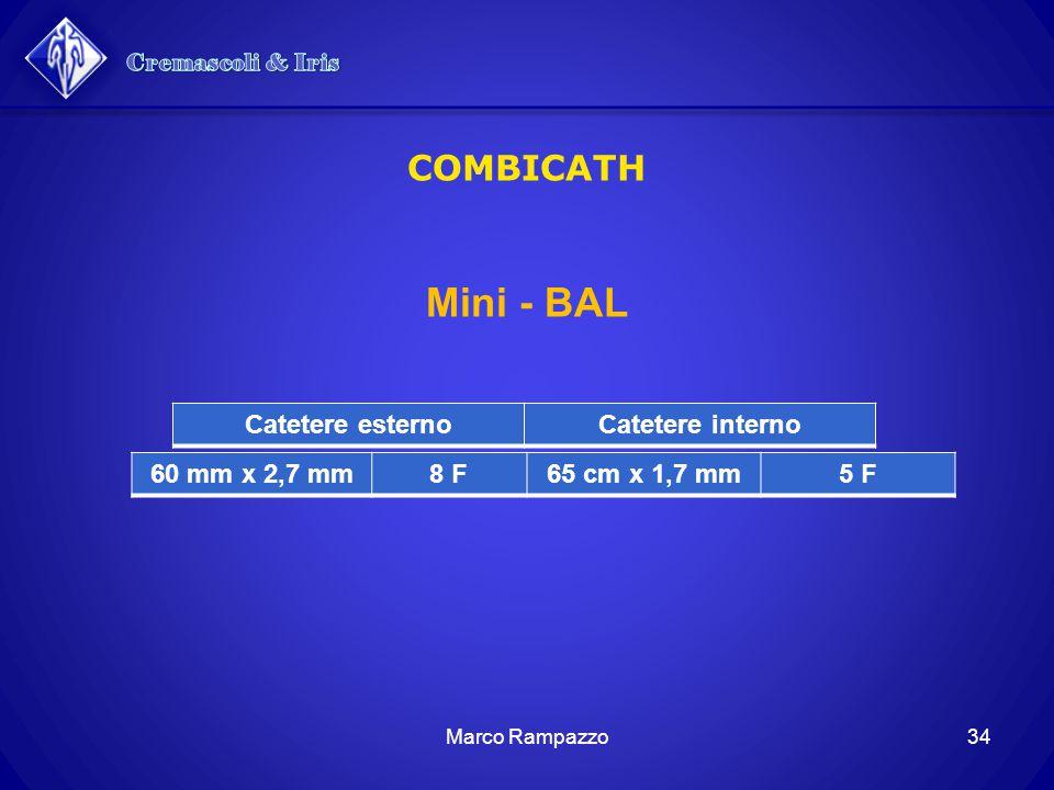 Cremascoli & Iris Mini - BAL COMBICATH Catetere esterno