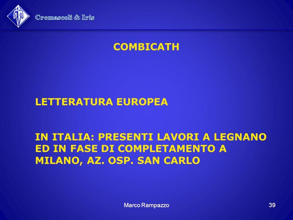 Cremascoli & Iris COMBICATH LETTERATURA EUROPEA