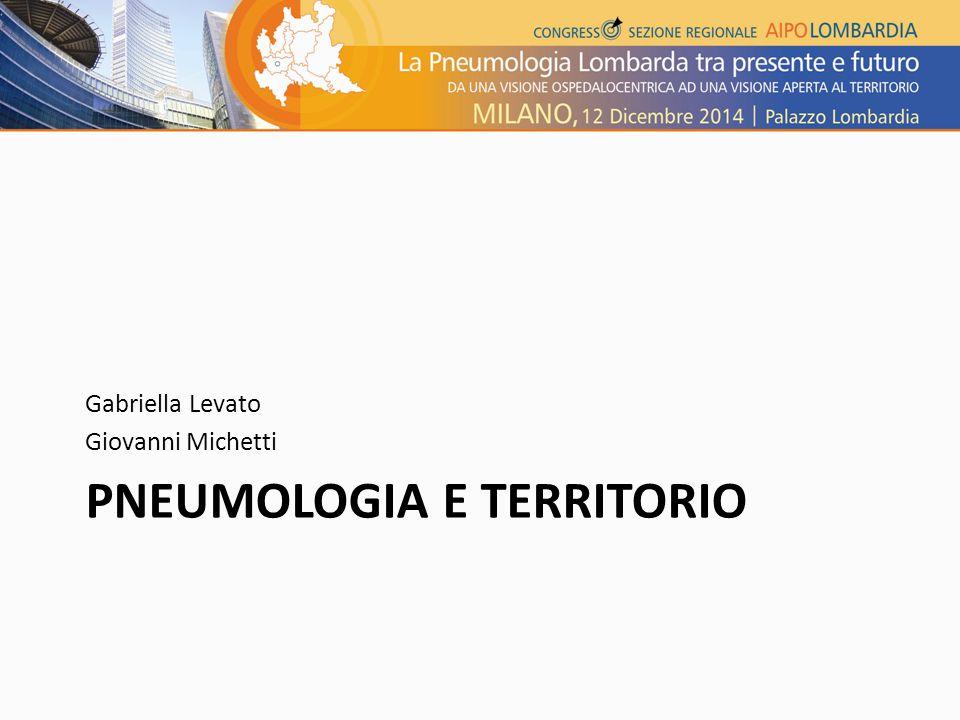 PNEUMOLOGIA E TERRITORIO