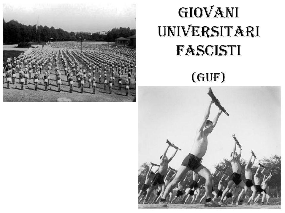 Giovani Universitari Fascisti