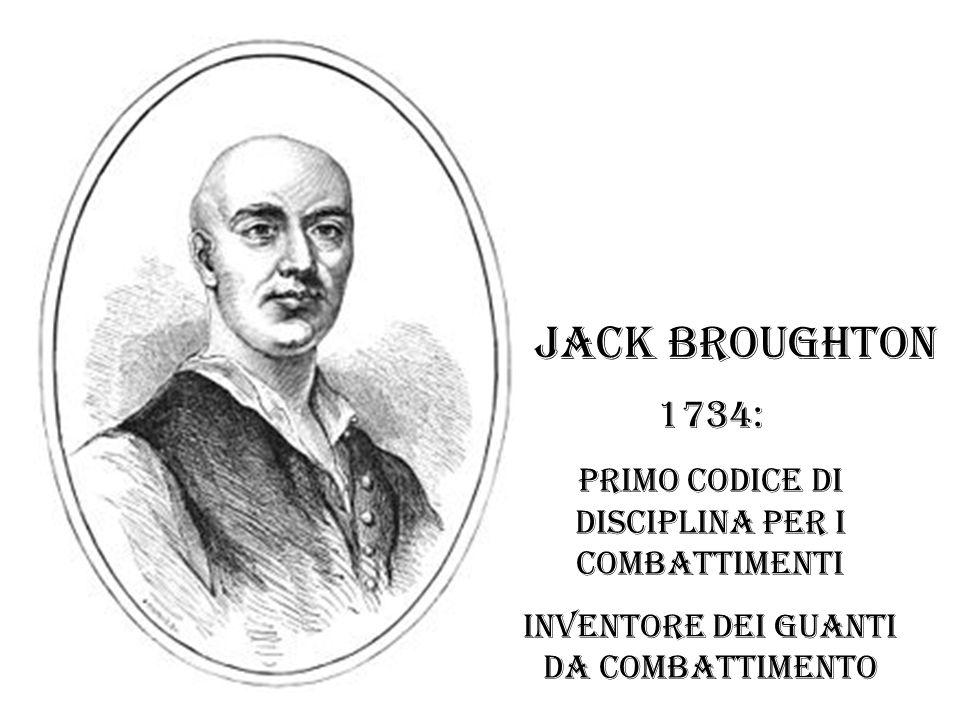 Jack Broughton 1734: primo codice di disciplina per i combattimenti