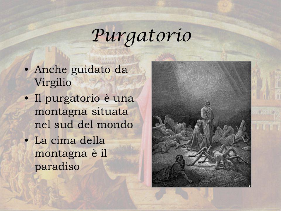 Purgatorio Anche guidato da Virgilio