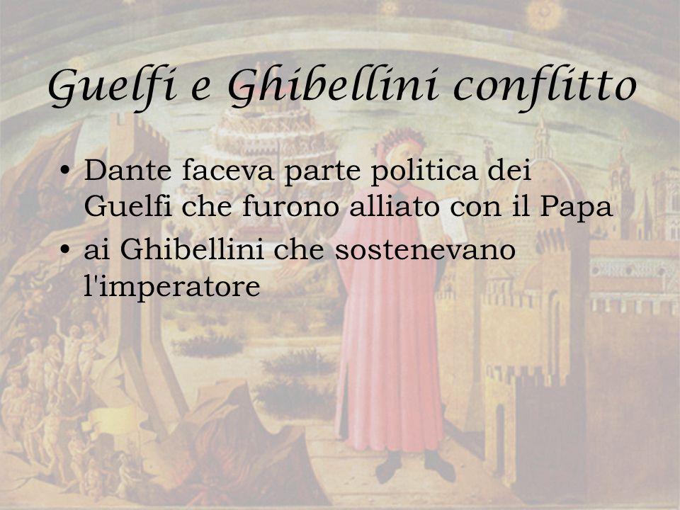 Guelfi e Ghibellini conflitto