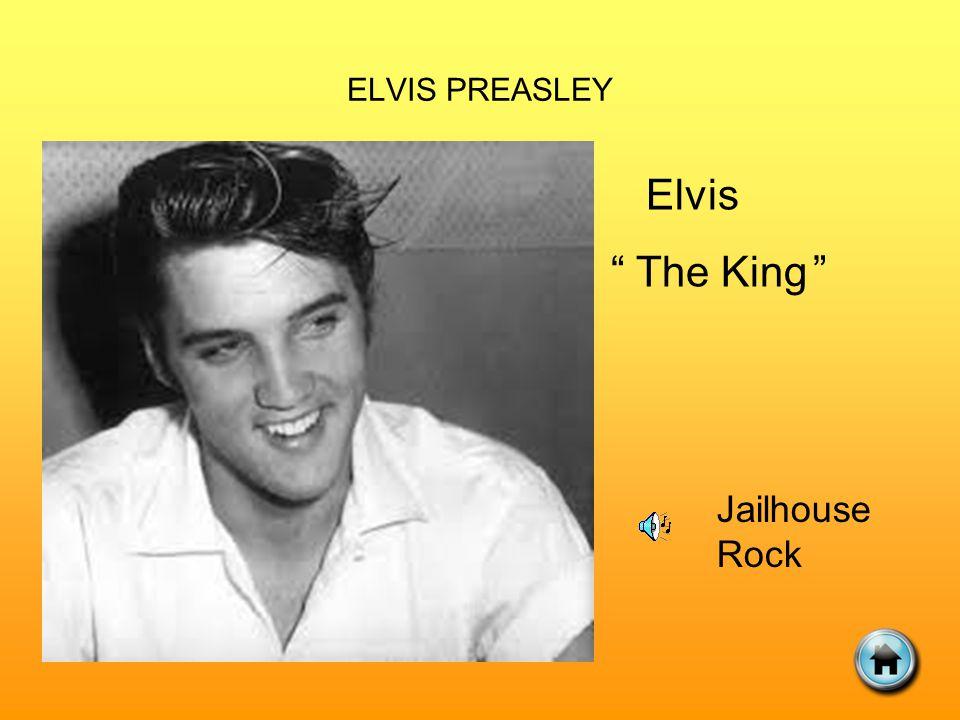ELVIS PREASLEY Elvis The King Jailhouse Rock