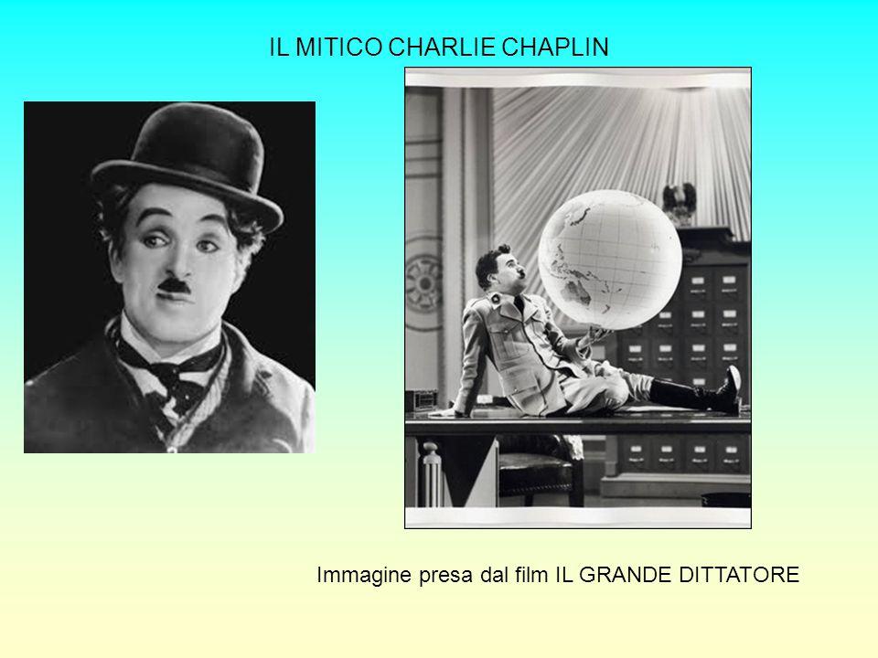 IL MITICO CHARLIE CHAPLIN