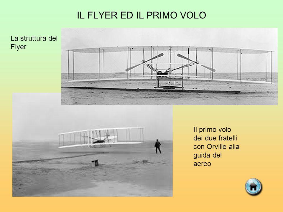 IL FLYER ED IL PRIMO VOLO