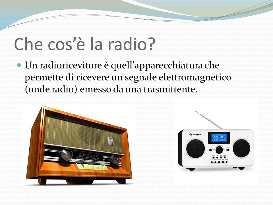 Che cos'è la radio