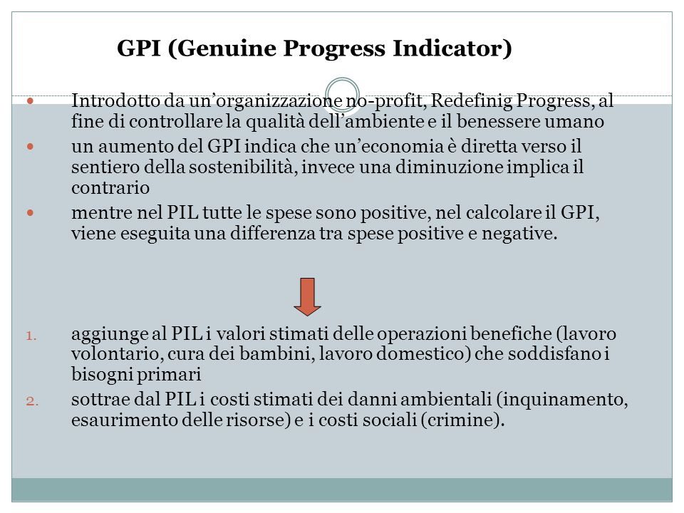 GPI (Genuine Progress Indicator)