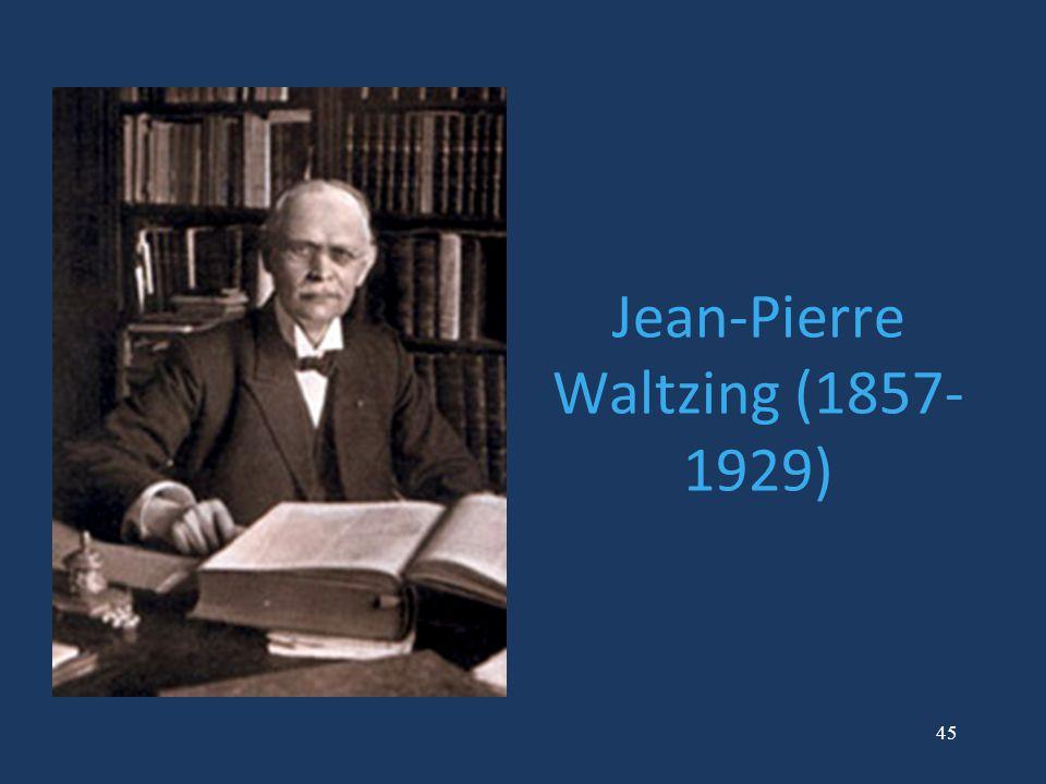 Jean-Pierre Waltzing (1857-1929)