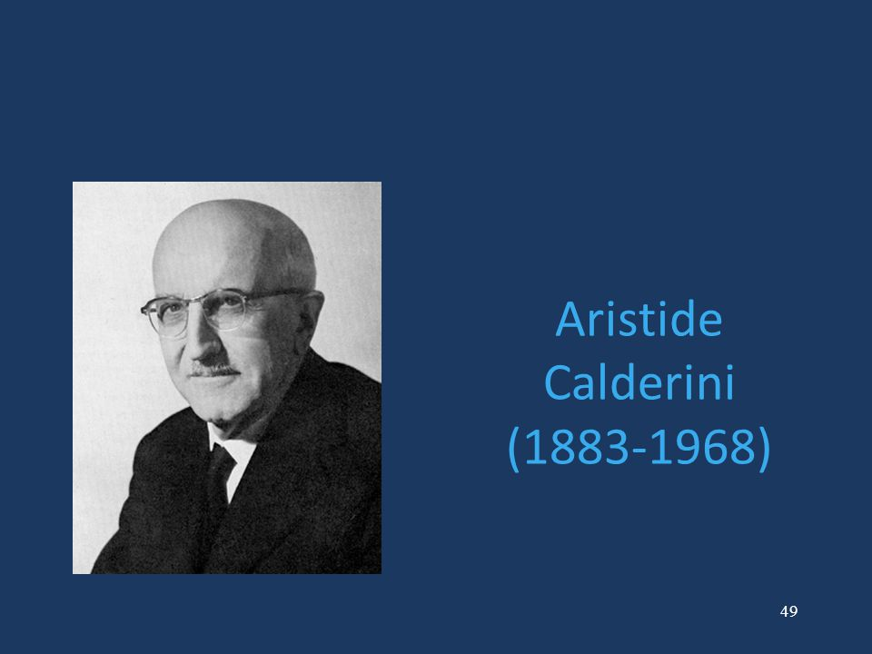Aristide Calderini (1883-1968)