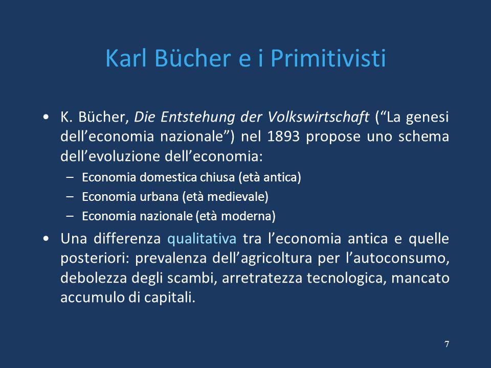 Karl Bücher e i Primitivisti