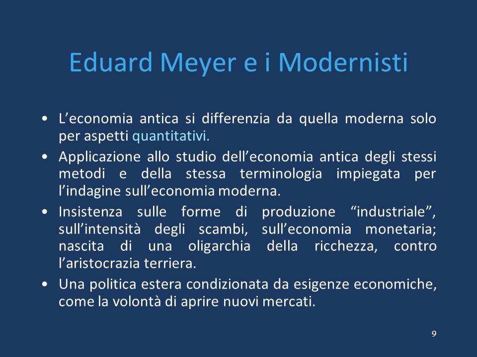 Eduard Meyer e i Modernisti