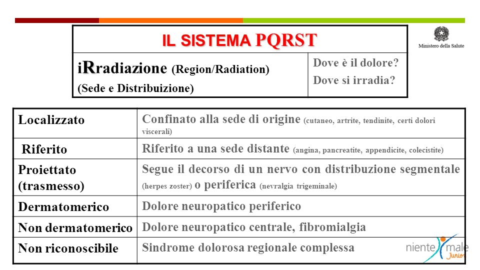 iRradiazione (Region/Radiation)