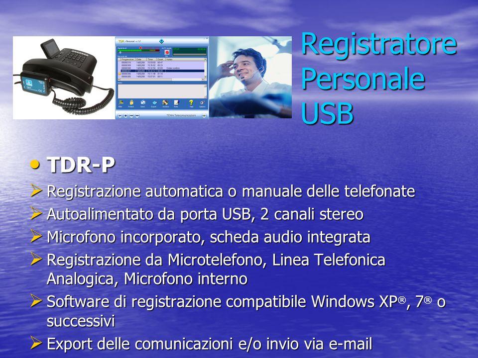 Registratore Personale USB