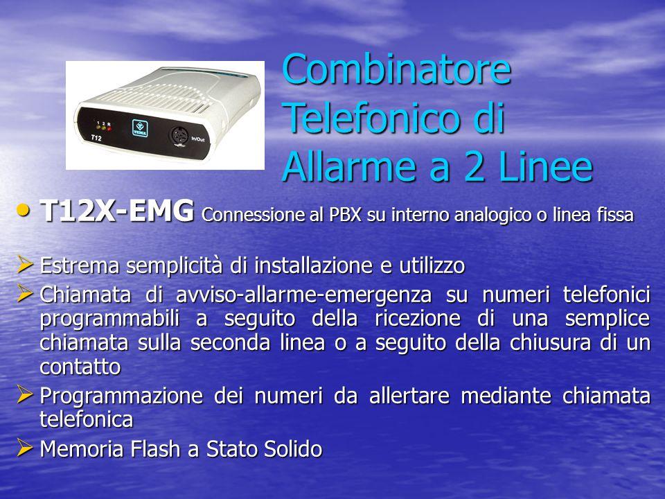 Combinatore Telefonico di Allarme a 2 Linee