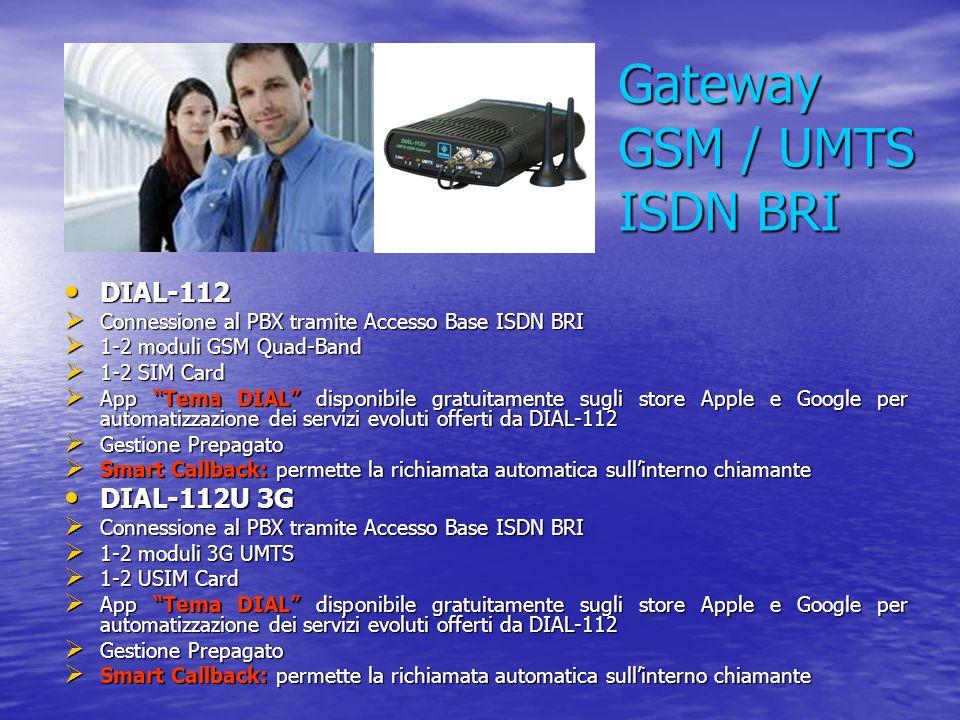 Gateway GSM / UMTS ISDN BRI