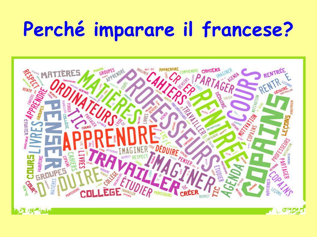 Perché imparare il francese