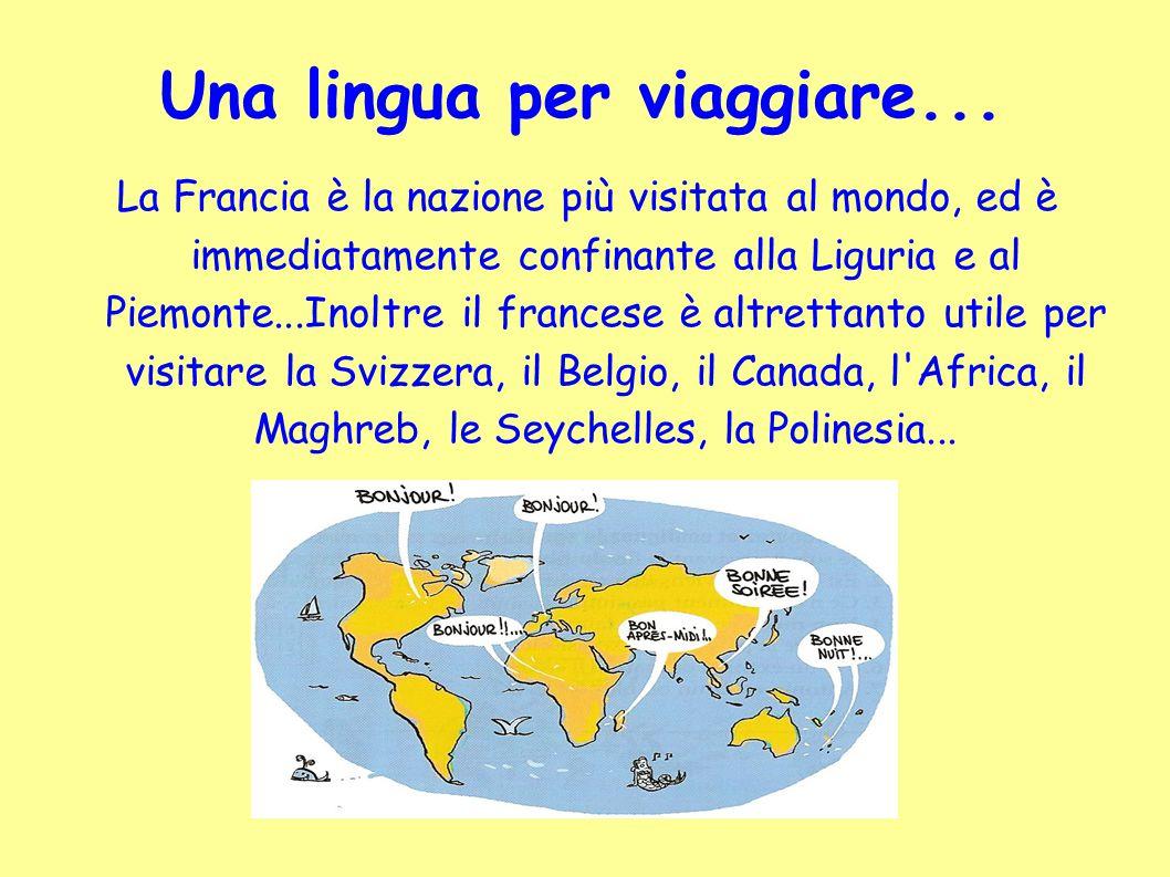 Una lingua per viaggiare...