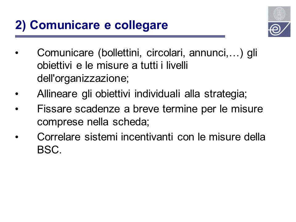 2) Comunicare e collegare