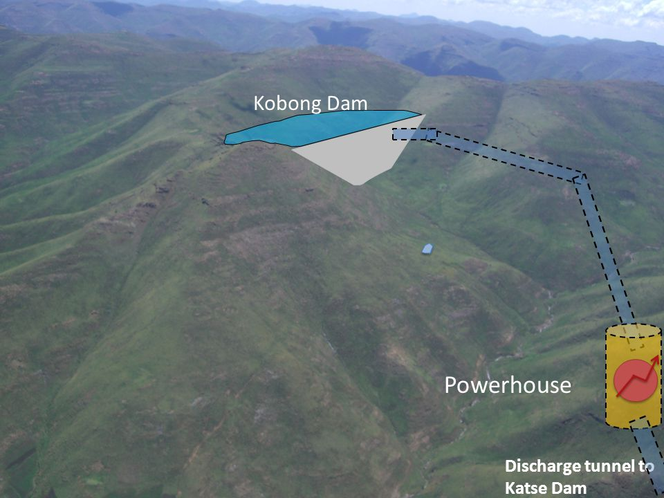 Fase in esecuzione Powerhouse Kobong Dam Tunnel Fase 2: