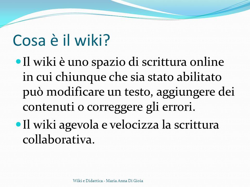 Cosa è il wiki