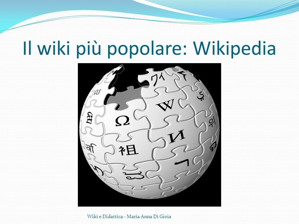Il wiki più popolare: Wikipedia