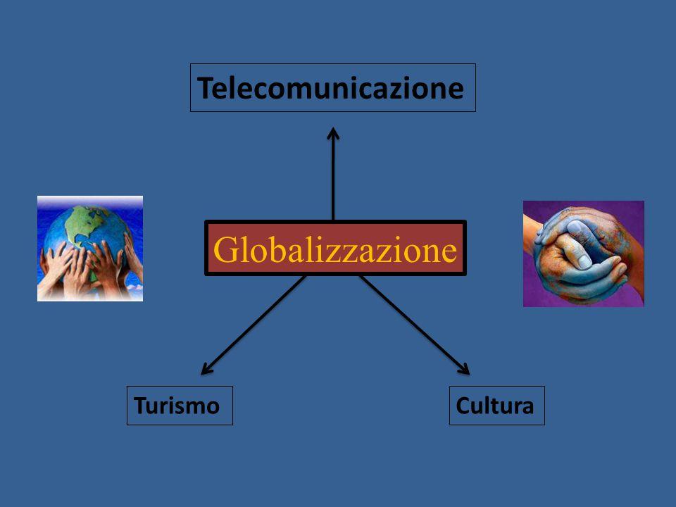 Telecomunicazione Globalizzazione Turismo Cultura
