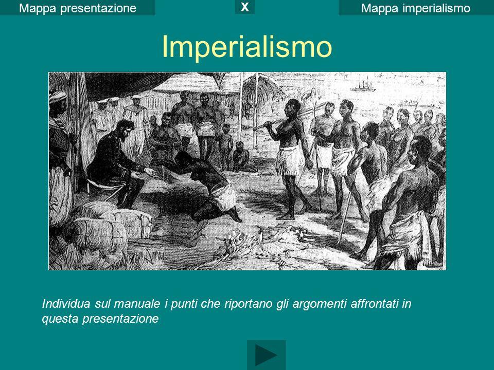 Imperialismo Mappa presentazione X Mappa imperialismo