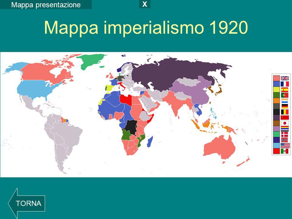 Mappa presentazione X Mappa imperialismo 1920 TORNA