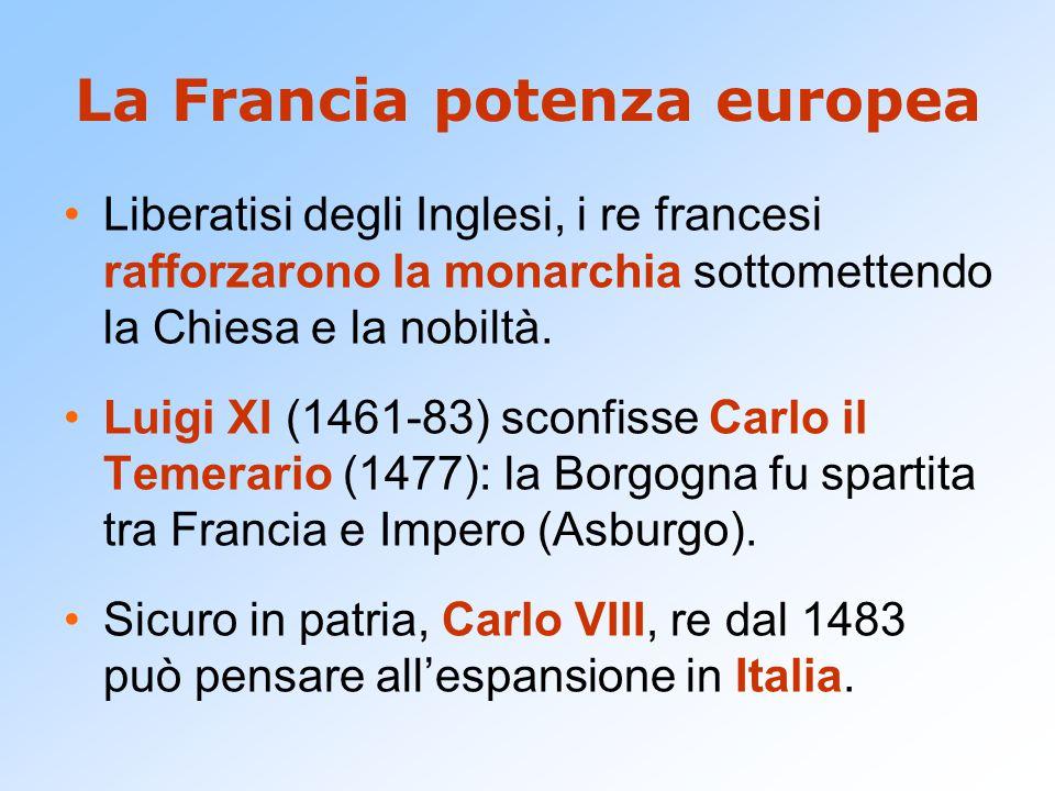 La Francia potenza europea