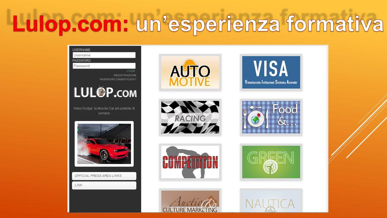 Lulop.com: un'esperienza formativa
