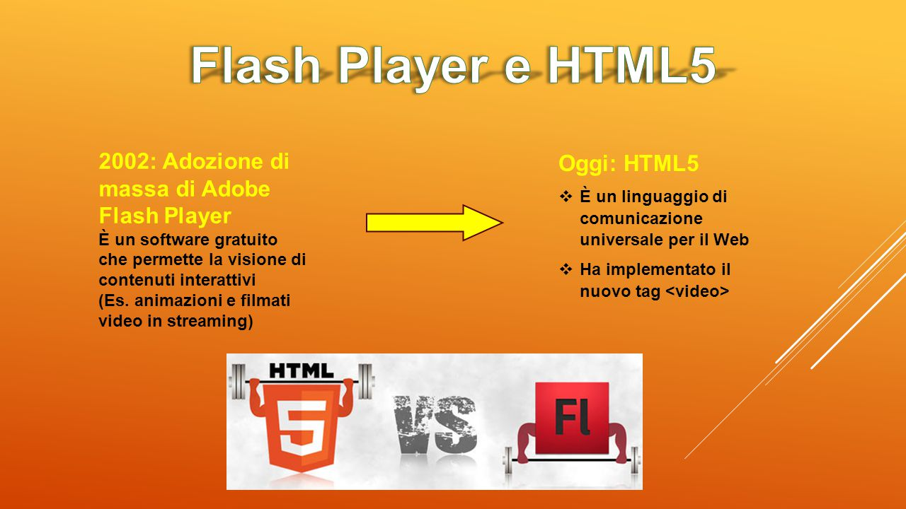 Flash Player e HTML5 2002: Adozione di massa di Adobe Flash Player