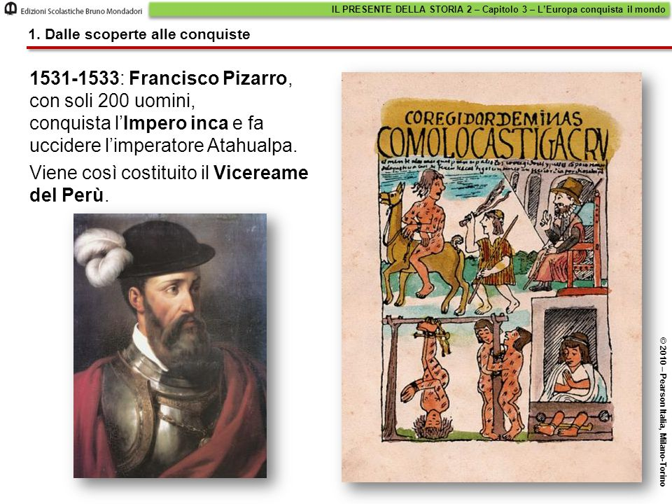 Viene così costituito il Vicereame del Perù.