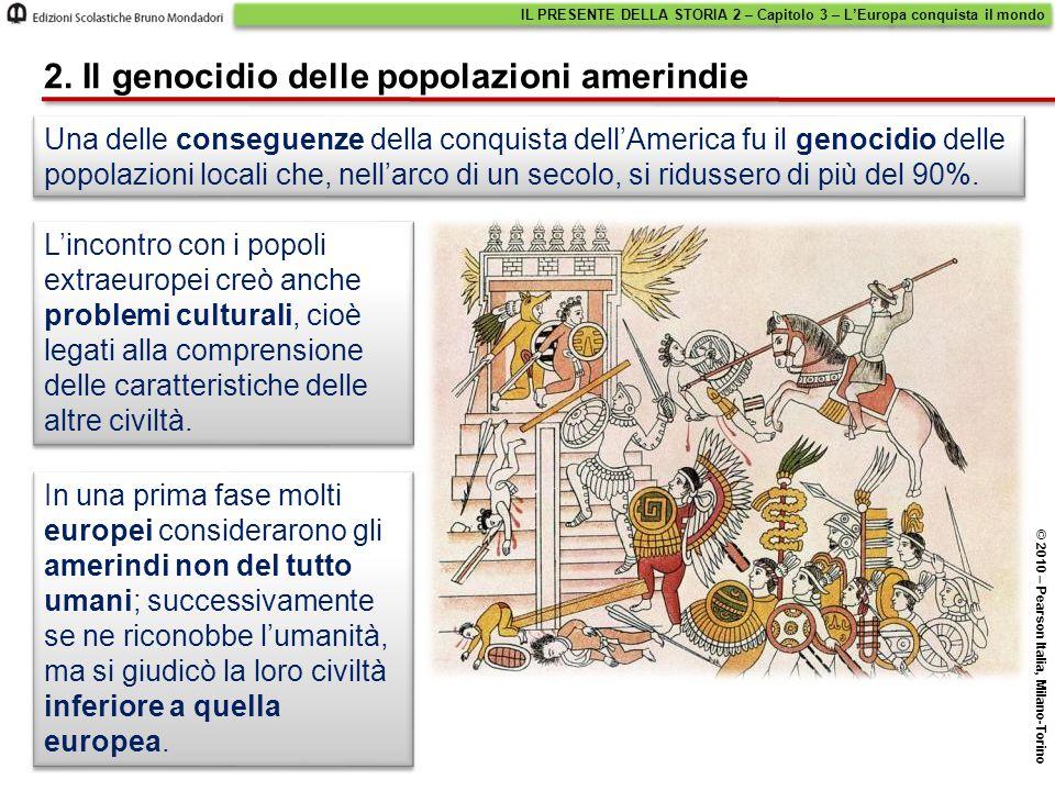 2. Il genocidio delle popolazioni amerindie