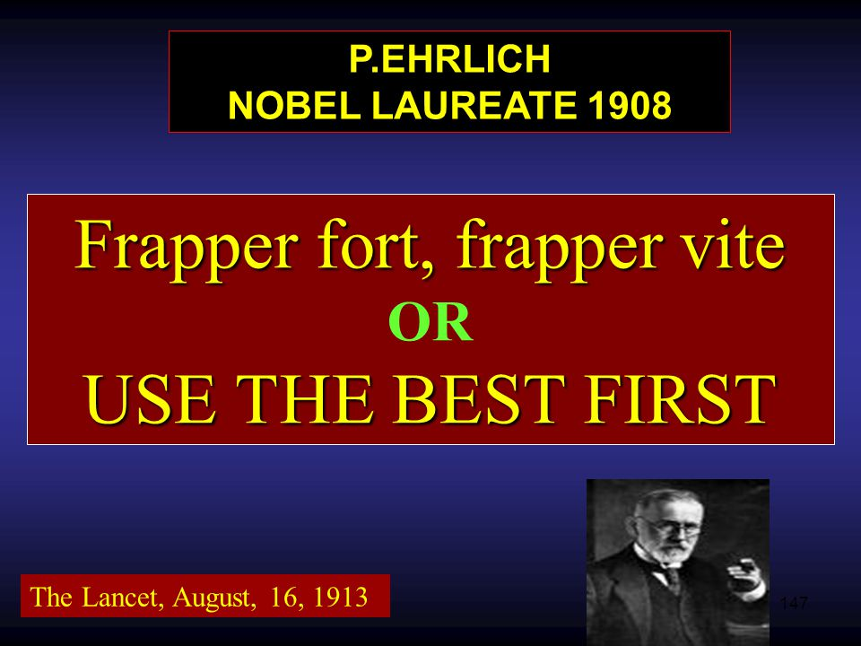 P.EHRLICH NOBEL LAUREATE 1908