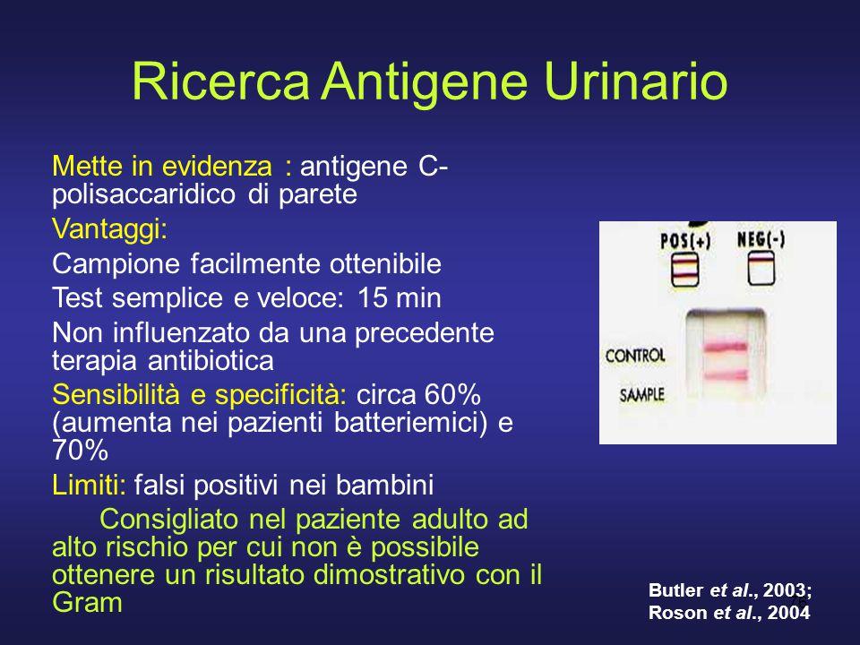 Ricerca Antigene Urinario