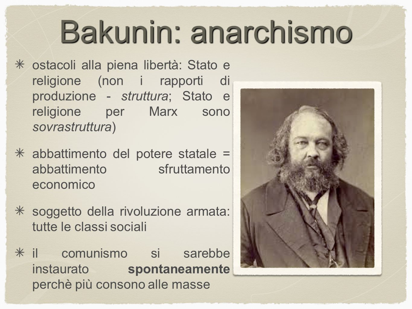 Bakunin: anarchismo