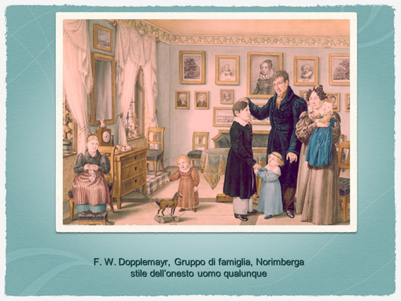 F. W. Dopplemayr, Gruppo di famiglia, Norimberga stile dell'onesto uomo qualunque