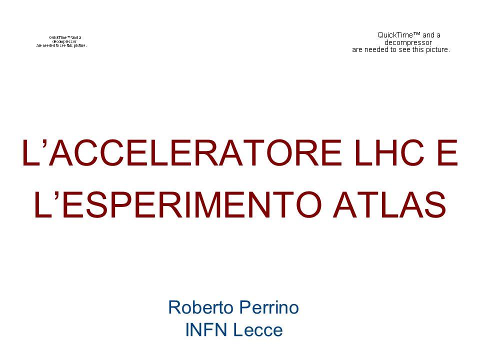 Roberto Perrino INFN Lecce