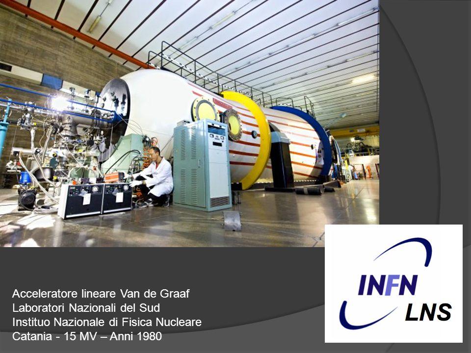 Acceleratore lineare Van de Graaf