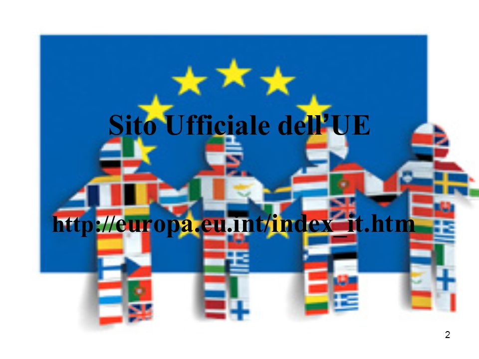 Sito Ufficiale dell'UE